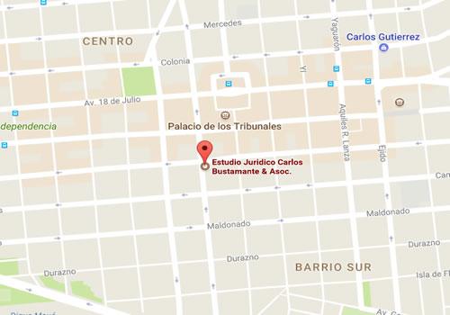 mapa Bustamante