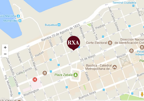 rxa ubicacion mapa