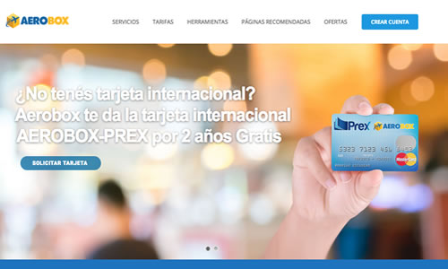 aerobox empresas de courier internacional