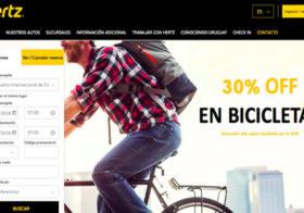 Alquiler de autos en Uruguay Hertz