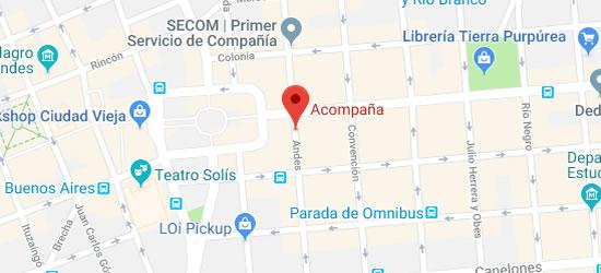 mapa acompana servicios de compañia